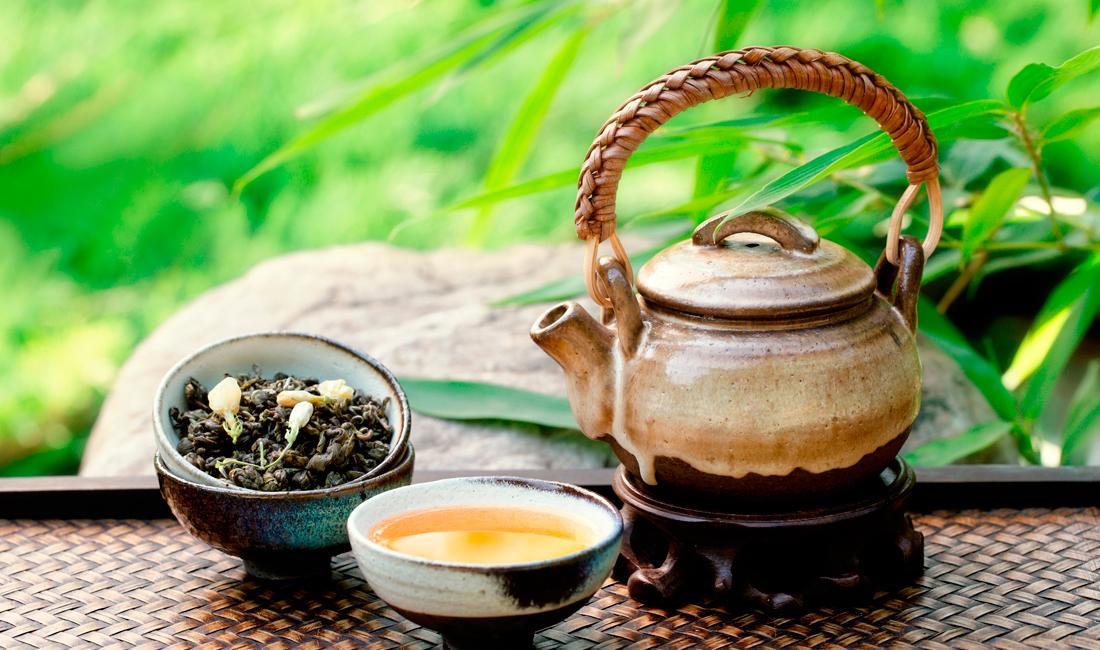 Чай черный с жасмином