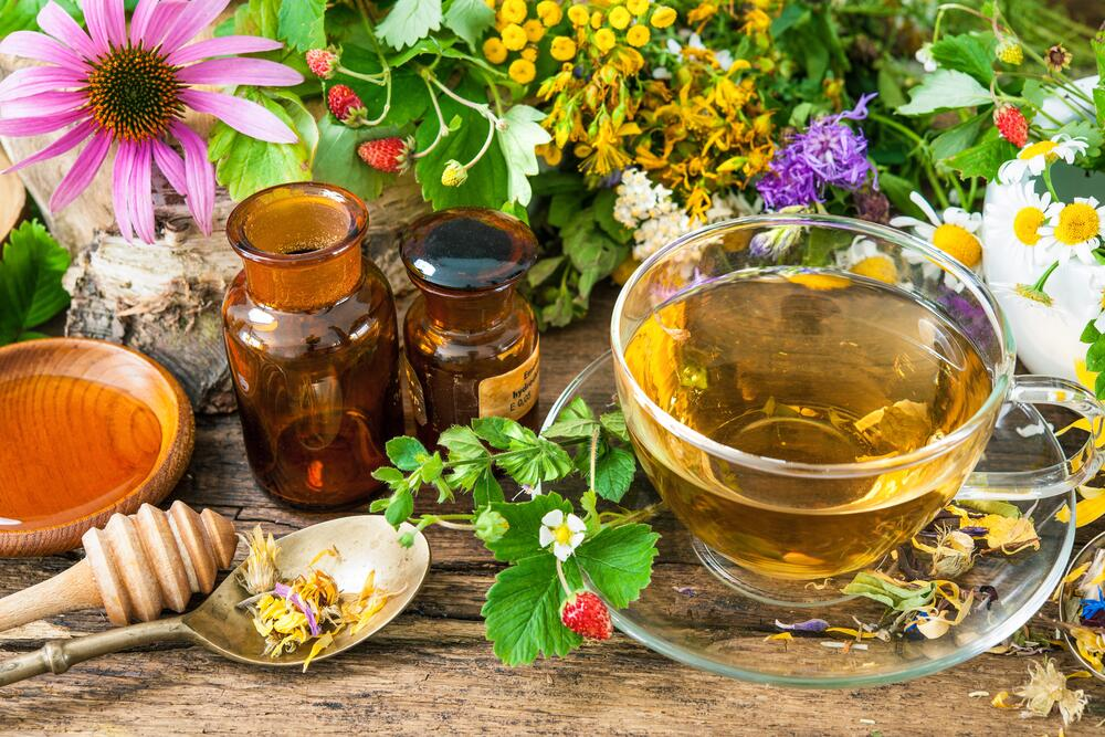 Ферментированный чай из листьев черемухи