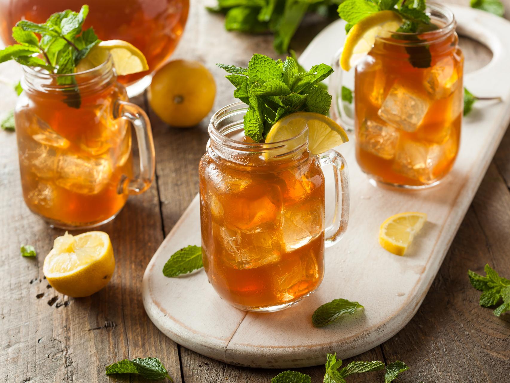 Классический холодный чай