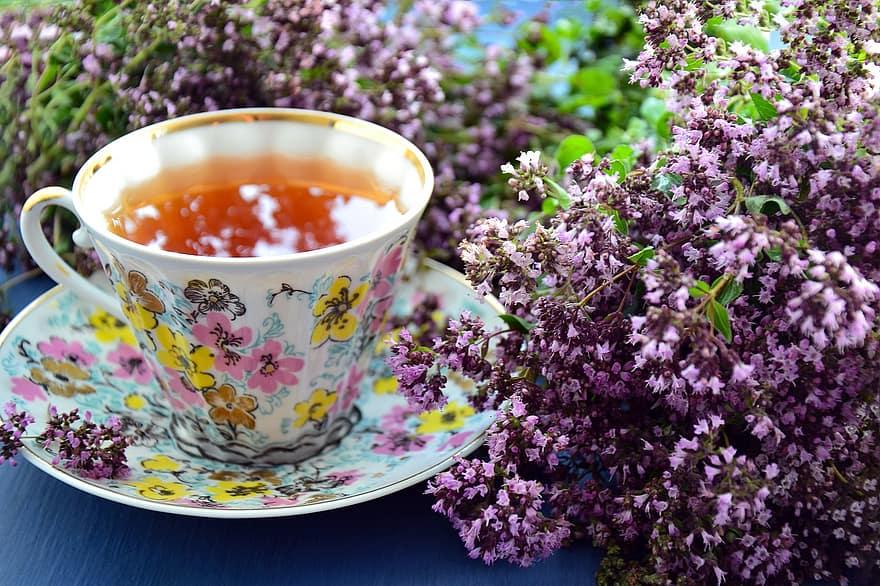 Напиток чайный с майораном